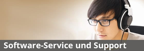 Software-Service und Support