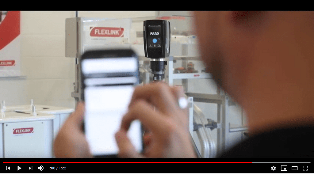 Demo Video: Laserscanning bei FlexLink